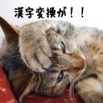 ある文字だけ漢字変換ができなくなったwindows7の修復方法
