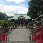 関東三天神のひとつ亀戸天神社へ合格祈願の初詣に