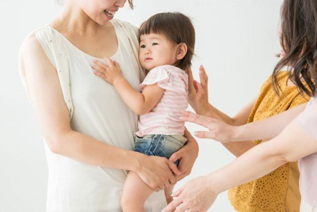赤ちゃんの人見知りと場所見知り