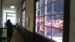 閑谷学校 資料館の廊下