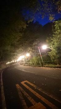 奥津渓の提灯