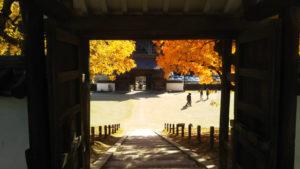 閑谷学校 聖廟への階段