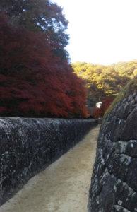 閑谷学校の石塀